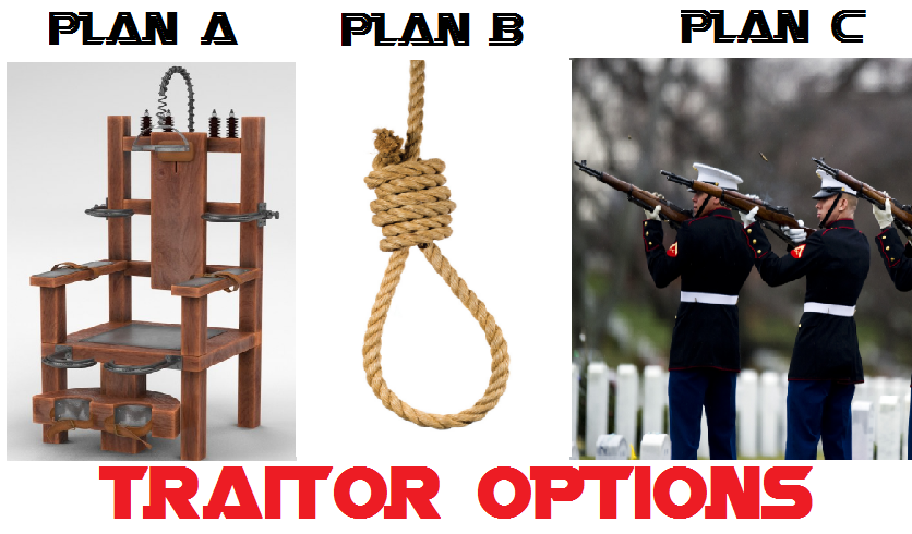 traitor noose hanging