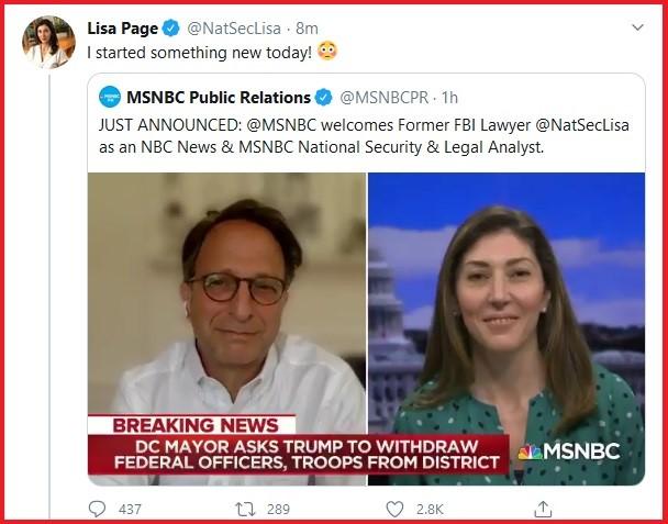 lisa page MSNBC