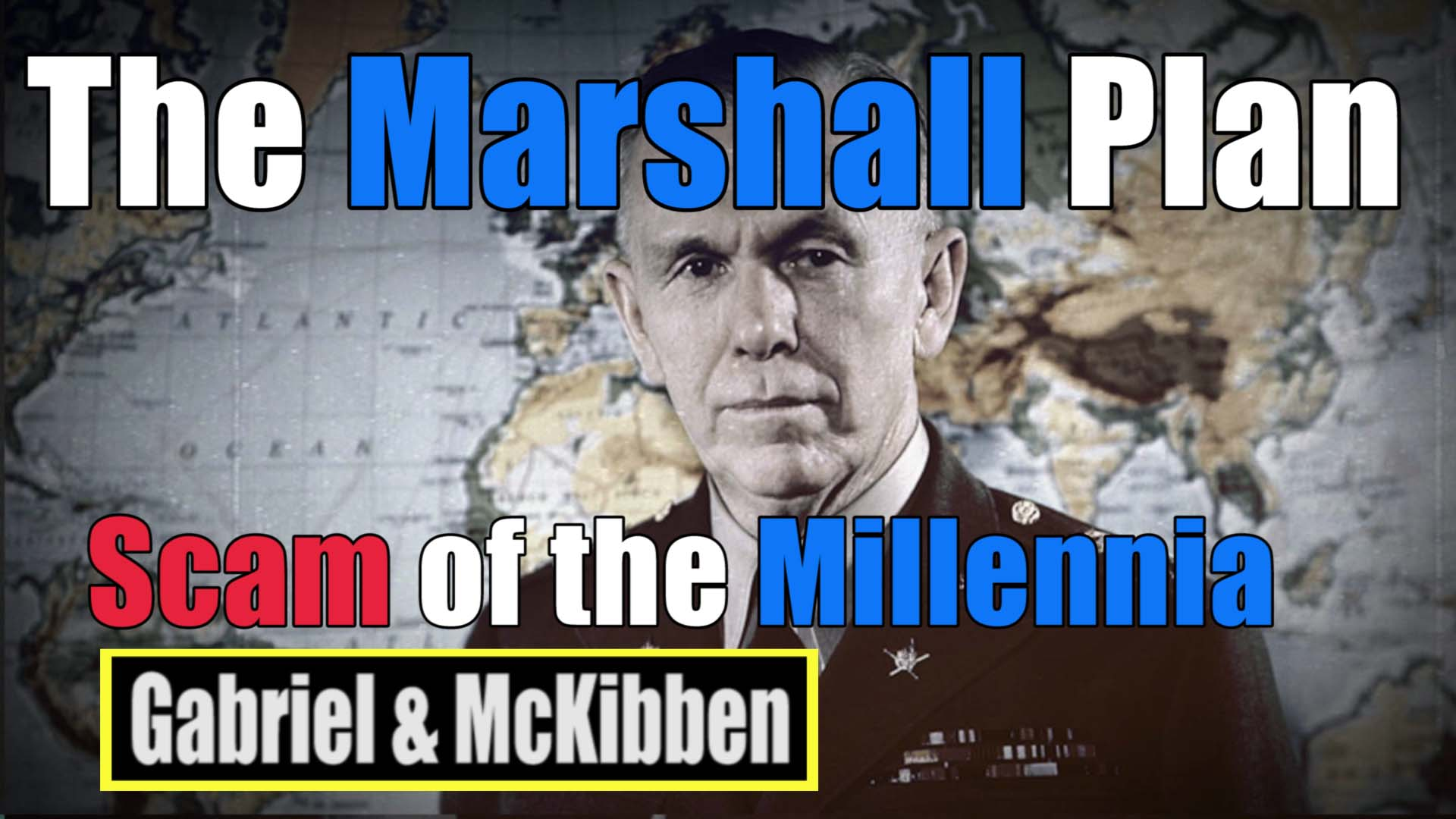 marshall plan scam